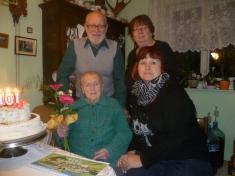 Paní Růžena Fišerová - 101 let