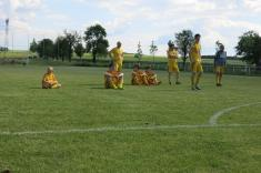 Fotbalové utkání Němčovice - Újezd u Svatého Kříže