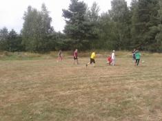 Fotbalové utkání ženy - muži 2015