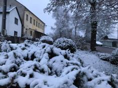 První sníh 2021